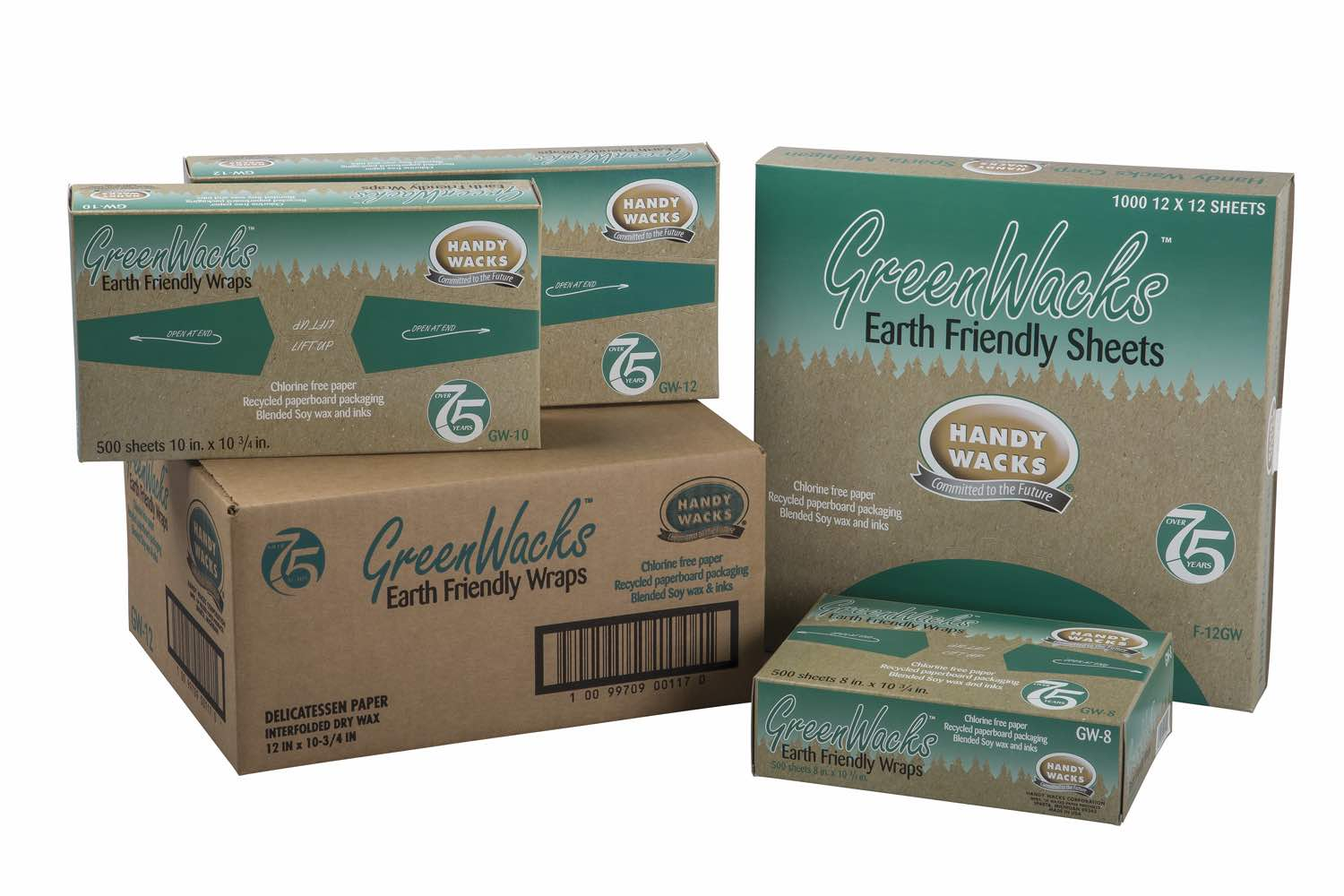 green wacks wax food paper